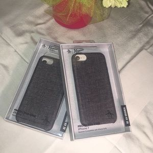Iphone 7 6 6s Gray Fabric Phone Case